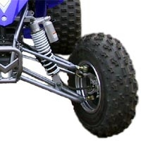 "Image Category: Yamaha YFZ450 +2"" A-Arms, '04-'05"